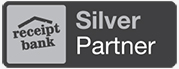 Receipt Bank silver partner